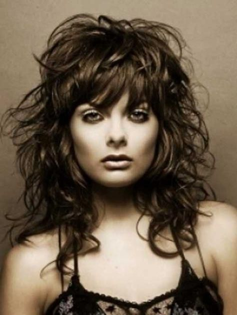 Fantastic 30 Best Curly Hair With Bangs Hairstyles Haircuts 2014 2015 Schematic Wiring Diagrams Amerangerunnerswayorg