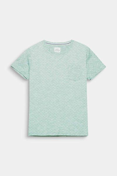 a64fe1403c3a8 Slub Jersey-Shirt aus 100% Baumwolle | MEN's FASHION | Mens fashion ...