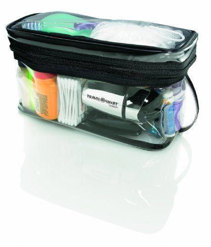 Travel Smart By Conair Transparent Sundry Kit Allows Security