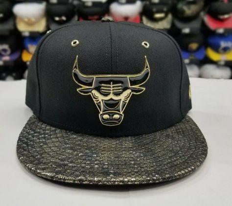 239adf92321 Matching New Era Chicago Bulls strapback Hat for Jordan 14 DMP Black Gold  Metal