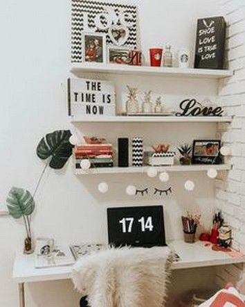 15 Cool Study Room Wall Decorating Ideas That Will Help Your Concentration Studyroom Studyroomideas Studyroomdecor Bedroom Diy Home Diy Home Office Decor