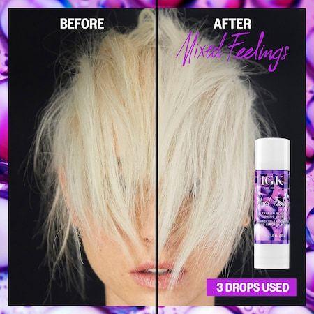 Mixed Feelings Purple Leave In Blonde Toning Drops Igk Sephora Damp Hair Styles Blonde Violet Hair
