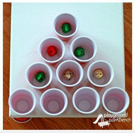 Make a jingle bell toss - Christmas Games to Make the Holidays Even More Exciting for Your Kids - Photos