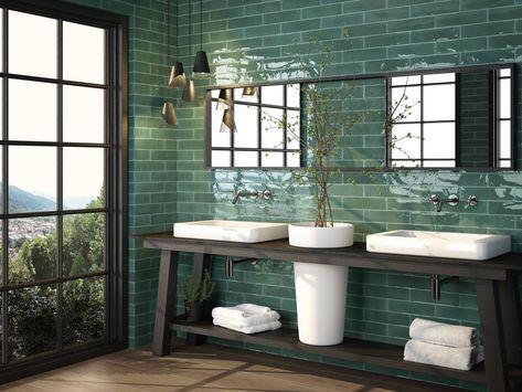 Cifre Opal Emerald Jpg 840 630 Pixels Bagno Verde Arredamento Bagno Bagno
