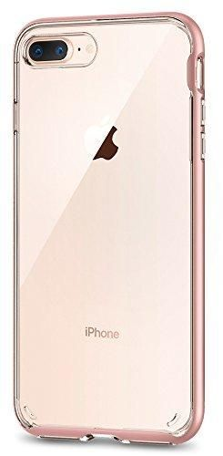 iphone 8 plus case clear rose gold
