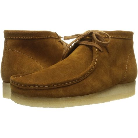 Clarks Wallabee Boot (Bronze Suede) Men's Lace up Boots