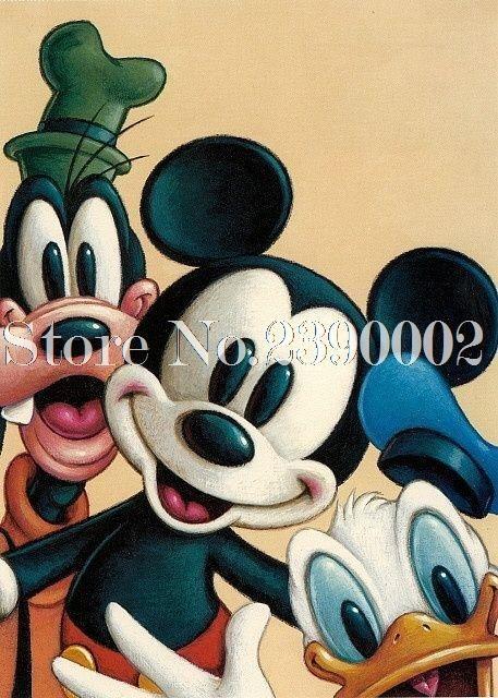 5D Diamond Painting Mickey Mouse Disney Collage Kit