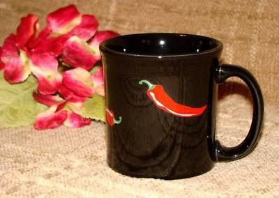 Fiesta Dinnerware Hot Chili Pepper Java Mug Holds 12 Oz And Was