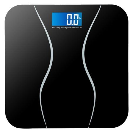 Zimtown New 396lb 180kg Electronic Lcd Digital Bathroom Body Weight Scale With Battery Walmart Com In 2020 Body Weight Scale Weight Scale Digital Scale Bathroom