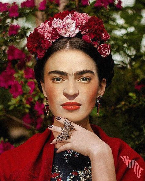 Frida kahlo costume - Artist Reimagined Iconic Faces of Classic Art In Today's Modern Society – Frida kahlo costume Costume Frida Kahlo, Frida Kahlo Makeup, Arte Peculiar, Frida Kahlo Portraits, Frida Kahlo Artwork, Kahlo Paintings, Frida And Diego, Frida Art, Mexican Artists