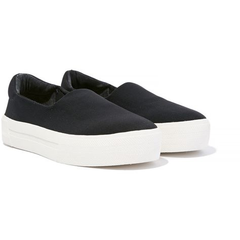 f78a4e48c20 Steve Madden Boombox Classic Slip On Platform Sneaker ( 70) ❤ liked on Polyvore  featuring