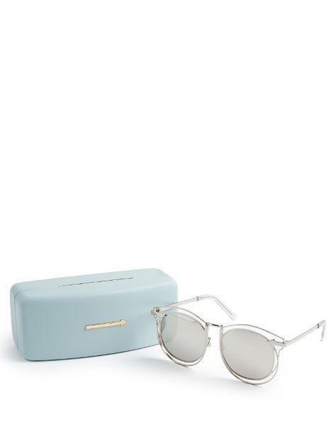 cd6ab5551334b Karen Walker Eyewear Simone round-frame sunglasses