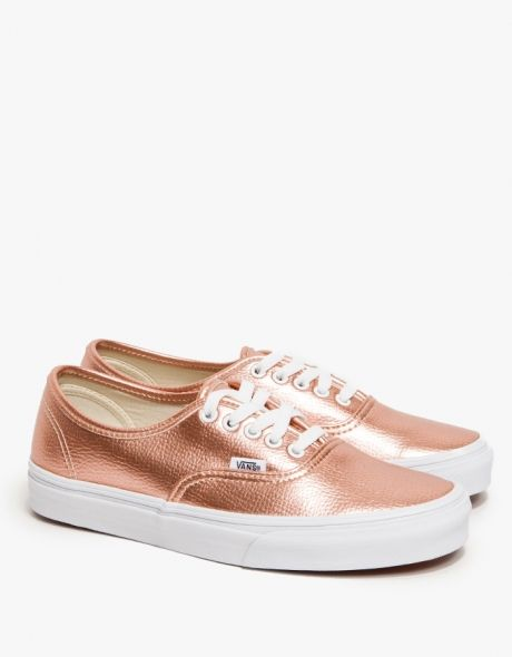 vans damen rose gold