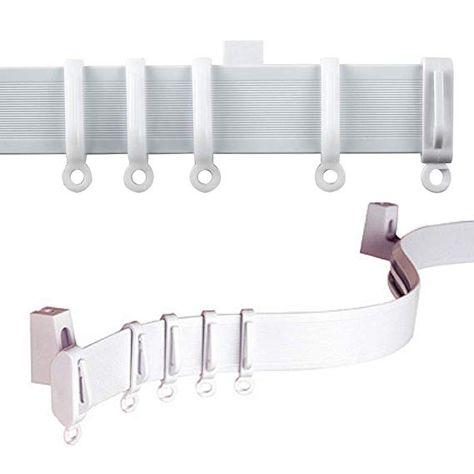 Amazon Com C2b 196 500cm Plastic Curtain Track Strong