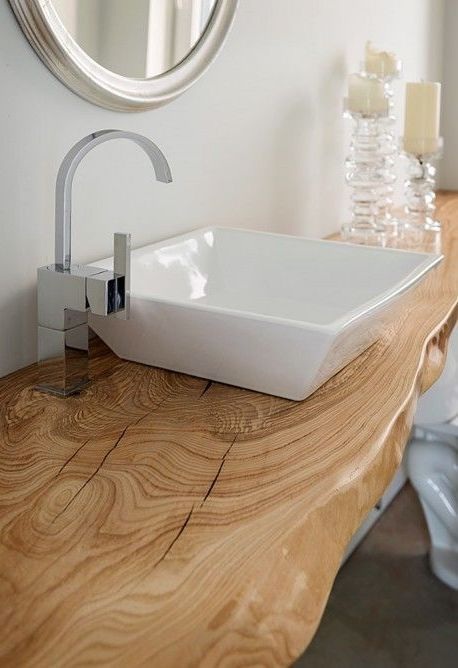 13 Wood Bathroom Countertop Ideas You Ll Want To Steal Wood