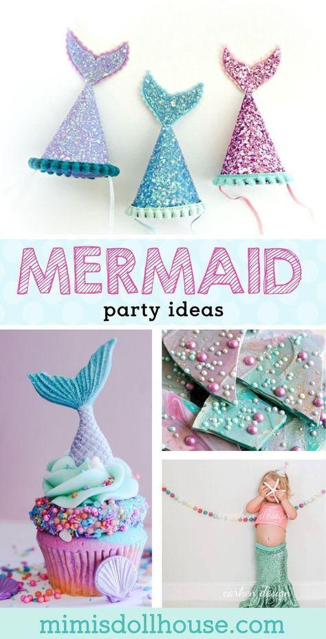 26 Fin Tastic Mermaid Party Ideas Meerjungfrau Party