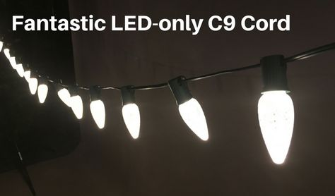 Led Christmas Light Cord With 6 Inch Ing
