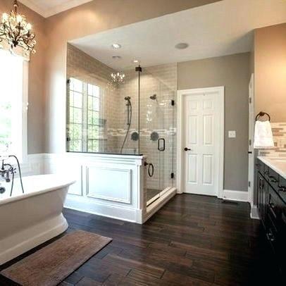 Modern Wooden Flooring Designs Wood Floor In Bathroom Best Dark Floor Bathroom Ideas On Master Bathroom Decor Farmhouse Master Bathroom Bathroom Remodel Master