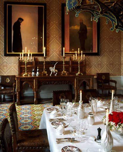 Castle Interior Design Set lismore castle, ireland  london interior designer melissa wyndham