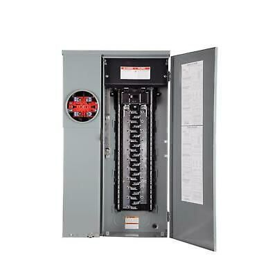 Details About Homeline 200 Amp 42 Space 42 Circuit Outdoor Ring Type Surface Mount Solar Ready Circuit Locker Storage Electrical Panel