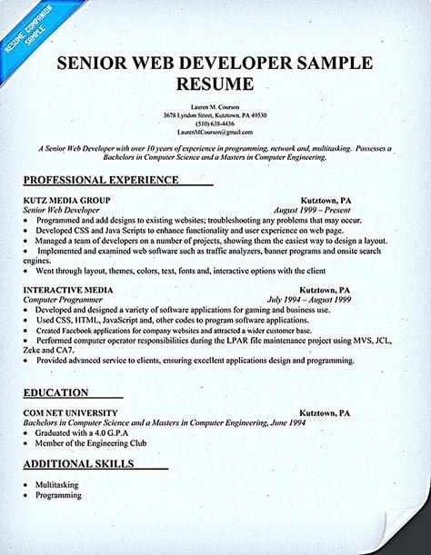 Software engineer resume objective sample Begin essay - resume objective ideas