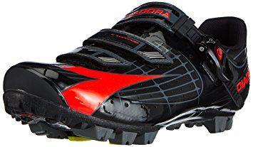 Diadora X Tornado Men S Mtb Cycling Shoe Black Red Review