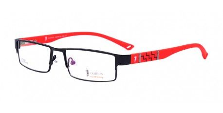 cd3e8199eb5c Fashion Designer Eyeglasses – HR4063 is a stylish frame made from high  quality metal for both unisex. With a Half frame type