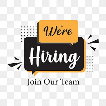 We Are Hiring Png Backgroun Design We Are Hiring Png Images We Are Hiring Vector Were Hiring Png Png And Vector With Transparent Background For Free Download In 2021 Hiring Poster