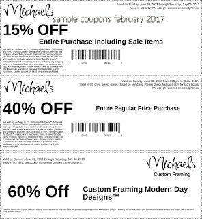 Michaels Coupon Promo Code From The Coupons App Off Everything And More At January