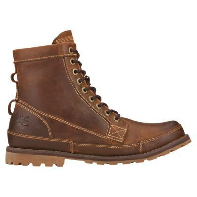 Timberland Earthkeepers 6 Inch Leather Boot (Men's) Brown Burnished Leather