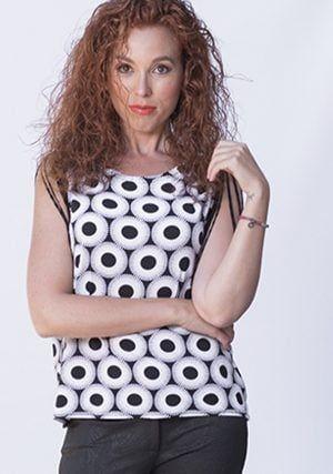 Mujer Talla Grande Ropa Tallas Grandes Mujer Moderna Blusas Juveniles Moda Moda Blusas De Moda