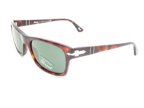 60a7b8a1a4b Persol PO 3037-S Product Details Brand Name   Persol Model Number   PO  3037-S - Color Code   24 31 Frame Color   Havana Lens Color   Green  Polarized   No ...