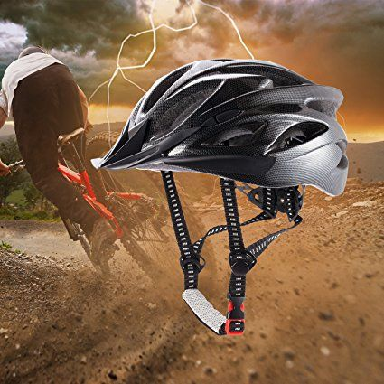 CCTRO Adult Cycling Bike Helmet Eco-Friendly Adjustable Trinity Men Wome.. New