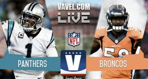 Panthers vs Broncos Live NFL Game 2016