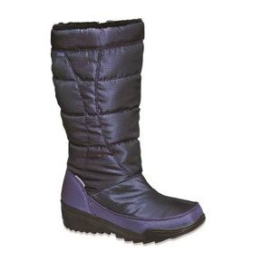 Ten lucky winners will each receive a pair of women's Kamik Nice boots in one of the following colors: Black, Dark Blue, Oyster, Plum or Medium Gray in winner's choice of size, 6 to 11 (whole sizes available). (Approx. retail value: $119.99)
