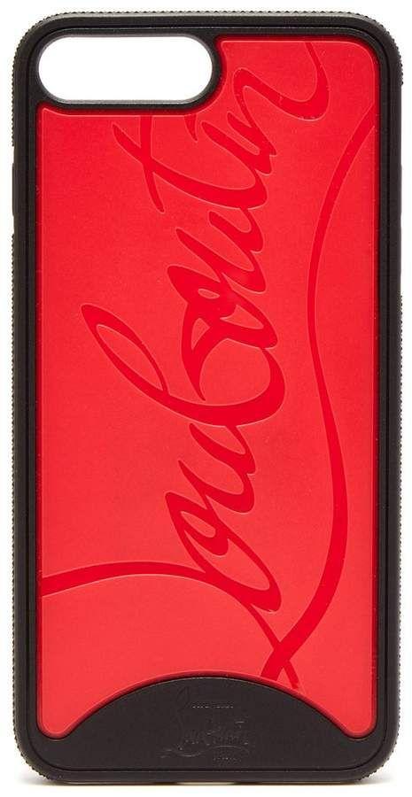 733aadadade CHRISTIAN LOUBOUTIN Loubiphone rubber iPhone® 7+ and 8+ case ...