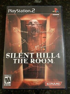 silent hill 4 the room ps2 cover