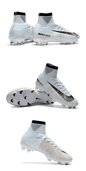 combinar Pensativo serie  Nike Mercurial Superfly 5 FG ACC Tacos de Futbol - Ronaldo CR7 Blanco | Tacos  de fútbol, Tacos de futbol nike, Botas de futbol nike
