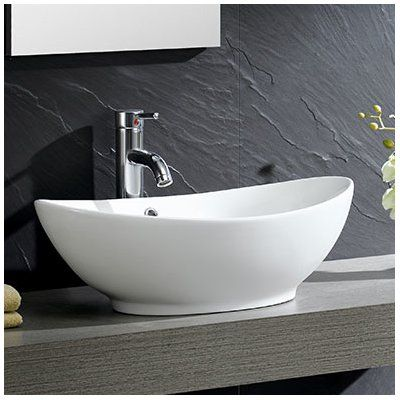 Modern Ceramic Oval Vessel Bathroom Sink With Overflow Bathroom Furniture Sink Bathroom Furniture Modern Bathroom Sink