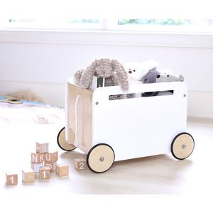 Toni Toy Box On Wheels With Images Kid Toy Storage Toy Storage Boxes Toy Storage