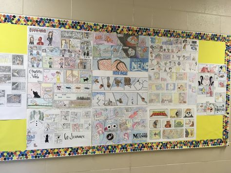 create Art Class Bulletin Board Comic...