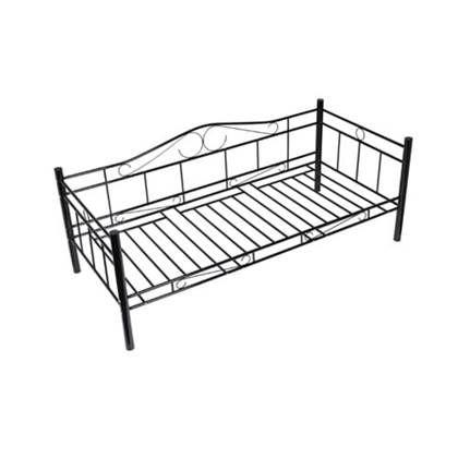Metalen Bedframe 1 Persoons.Vidaxl 1 Persoons Bed Van Metaal 90 X 200 Cm Products In 2019