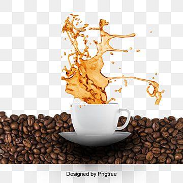 Vector Taza De Cafe Cafe Cafe Creativo Cafeteria Png Y Vector Para Descargar Gratis Pngtree Coffee Fonts Coffee Png Milk Splash