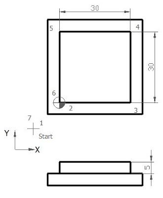 CNC Programming Examples - G40 G41 G42 | Tutorials