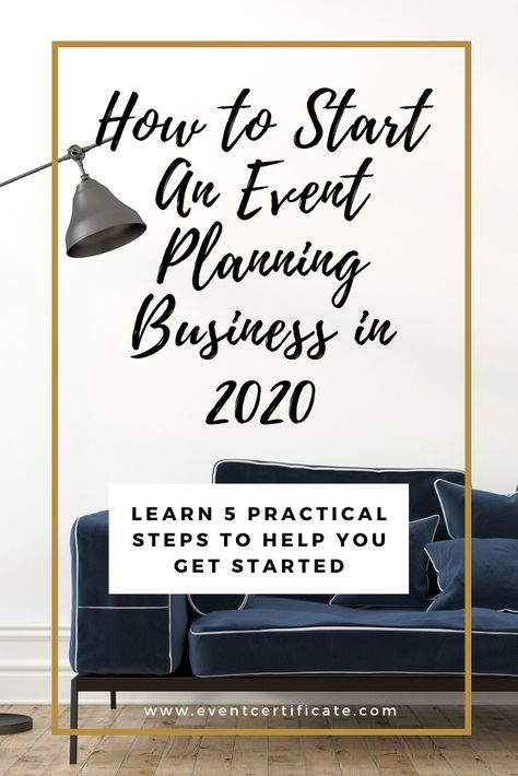 Starting an event planning business in 2020 will require careful planning to launch your business right without feeling lost.But what are some practical steps to help you get started? We're giving you 5 tips to help! Event Planning Template, Event Planning Tips, Event Planning Business, Business Events, Business Notes, Business Ideas, Party Planning, Wedding Planner Binder, Planner Tips