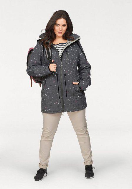 Softshelljacke teiliert durch Kordelzug | Jacken und Kordel