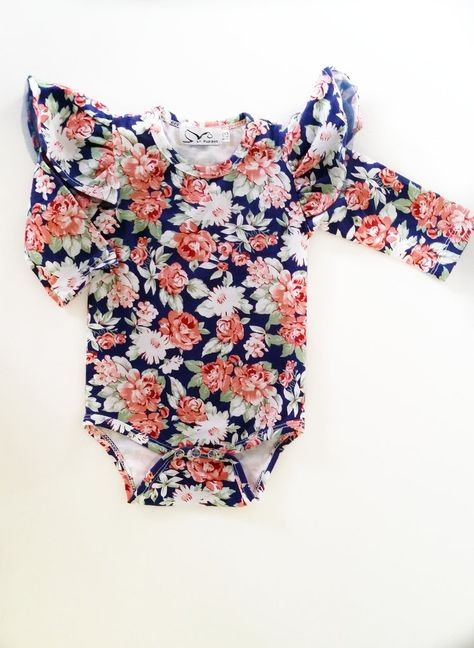 c60ddbe84e3 Gorgeous Tulle Flutter Sleeve Romper Snaps for easy nappy change Made from  Quality Cotton Blend - 95 % Cotton 5% Spandex We recommend to not Iron over  the