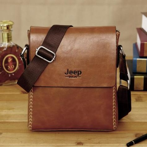 bb5241f2f0 The New Jeep Messenger Bag. Time To Dress Smart For Work - Premium Leather