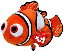 Ty Beanie Babies Finding Dory Nemo Regular Plush: A Ty Beanie Baby Plush Collectible of Nemo, the adorable clownfish from the Pixar films Finding Nemo and its sequel Finding Dory.