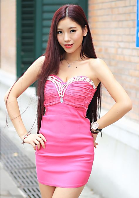 Tianqing (Natalia)  Lady's ID  38336  Age23  Birthday6 Nov 1992  Zodiac sign  Scorpio  Height  5' 6''(1.68m)  Weight  117 Lbs(53 kg)  Hair Color  Black  Eye Color  Black  Smoke  Non-smoker  Drink  Non-drinker  Occupation  Other  Education  University  Marital Status  Single  English Spoke  none  Religion  Not religious  Children  No  Plans Children  Yes  Residence  Zhanjiang China  Interests:  I like traveling shopping camping swimming.  Self-Description:  I am a kind considerate sincere and…
